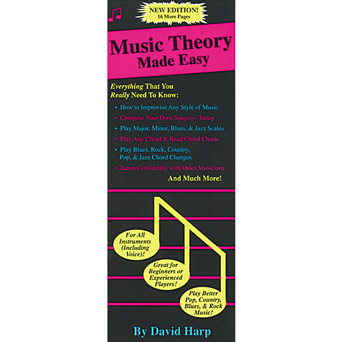 Music Sales Music Theory Made Easy Book
