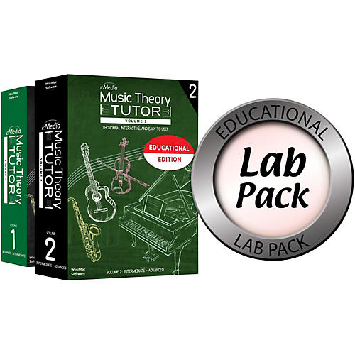 Emedia Music Theory Tutor Lab Pack for 10 Computers