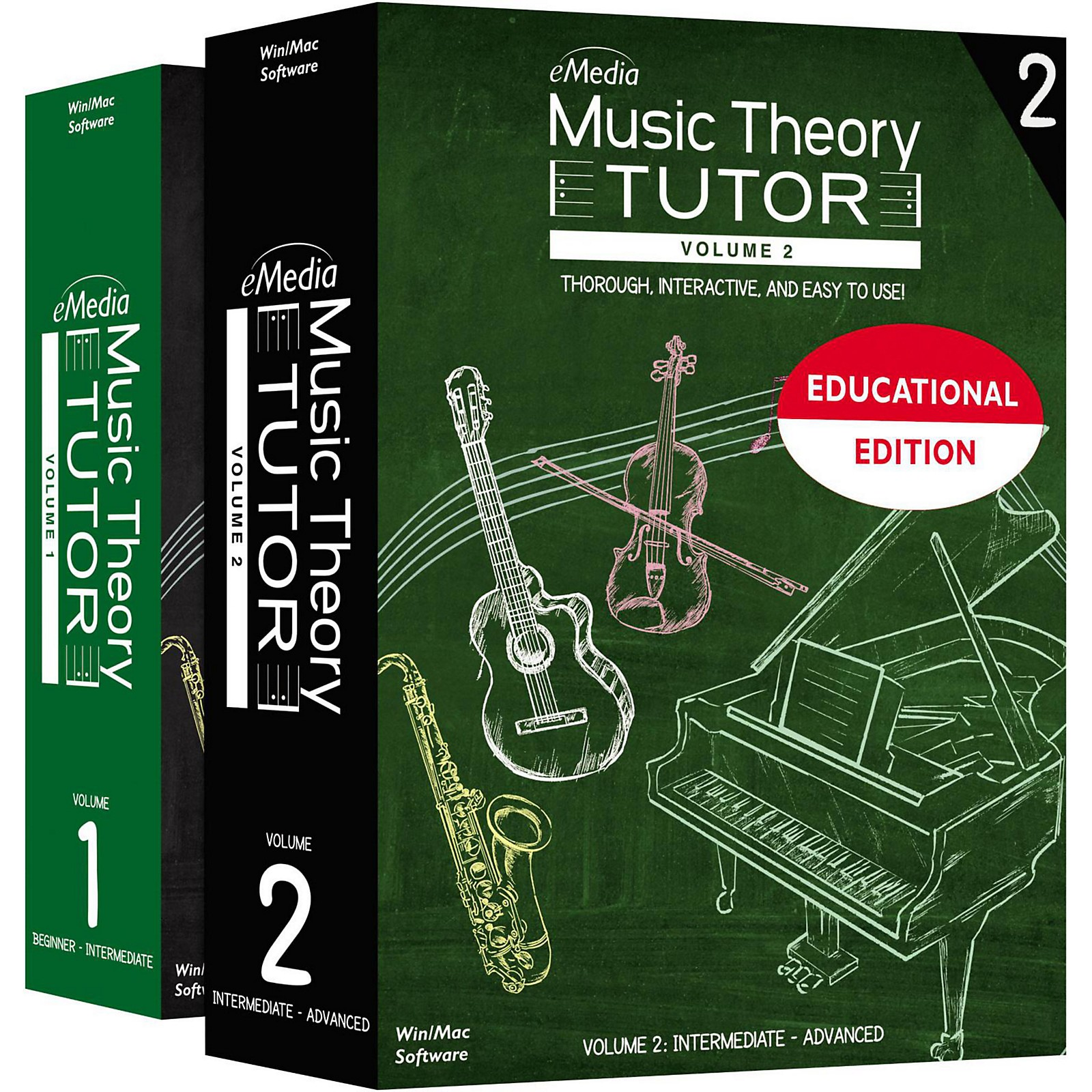 eMedia Music Theory Tutor Teacher/Student Academic Edition