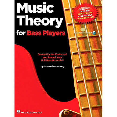 Hal Leonard Music Theory for Bass Players - Demystify the Fretboard and Reveal Your Full Bass Potential!
