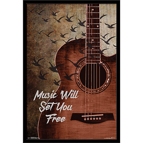 Music Will Set You Free Poster