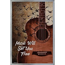Trends International Music Will Set You Free Poster