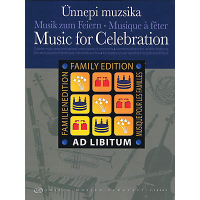 Editio Musica Budapest Music for Celebration EMB Series Softcover by Various