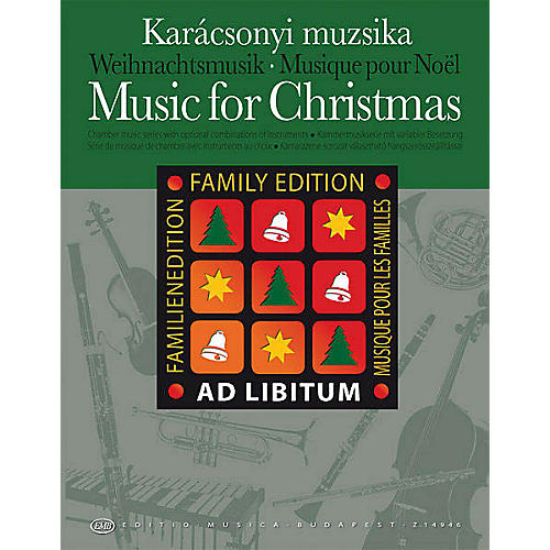 Hal Leonard Music for Christmas - Family Edition EMB Series by Various