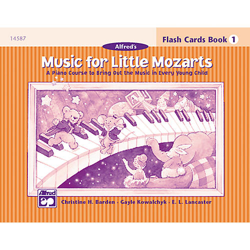 Alfred Music for Little Mozarts Flash Cards Level 1