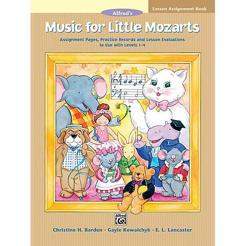 Alfred Music for Little Mozarts Lesson Assignment Book