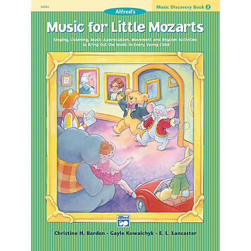 Alfred Music for Little Mozarts Music Discovery Book 2