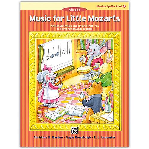 Alfred Music for Little Mozarts: Rhythm Speller, Book 1 Level 1