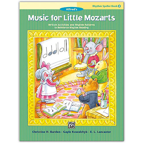 Alfred Music for Little Mozarts: Rhythm Speller, Book 2 Level 2