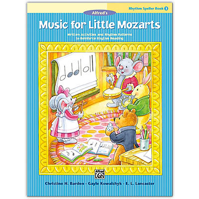 Alfred Music for Little Mozarts: Rhythm Speller, Book 3 Level 3