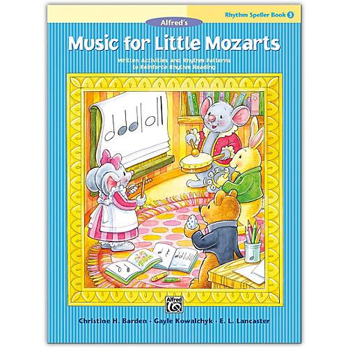 Alfred Music for Little Mozarts: Rhythm Speller, Book 3 Level 3