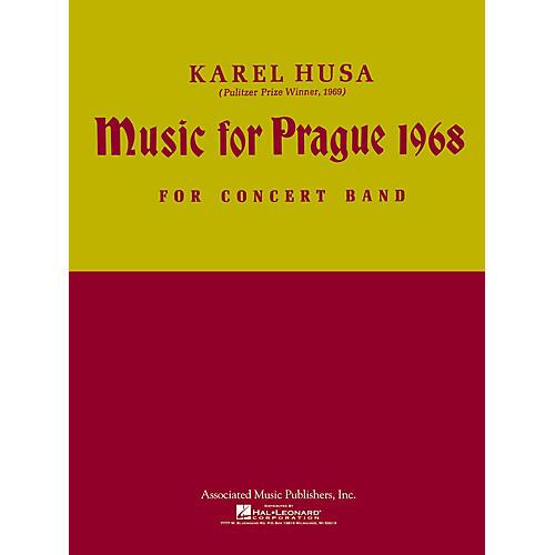 Associated Music for Prague (1968) (Full Score) Concert Band Composed by Karel Husa