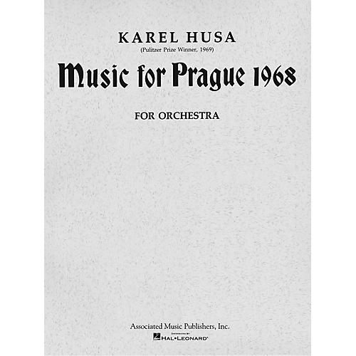 Associated Music for Prague (1968) (Full Score) Study Score Series Composed by Karel Husa