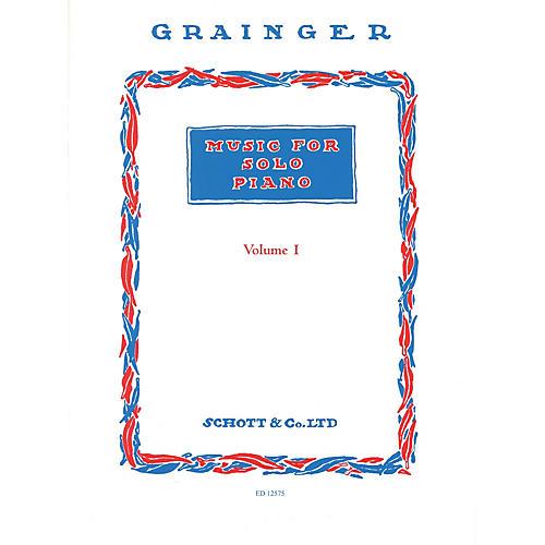 Schott Music for Solo Piano - Volume 1 Schott Series Softcover