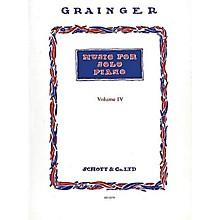 Schott Music for Solo Piano (Volume Four) Schott Series