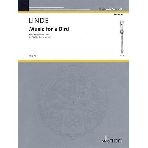 Schott Music for a Bird (for Treble Recorder) Schott Series