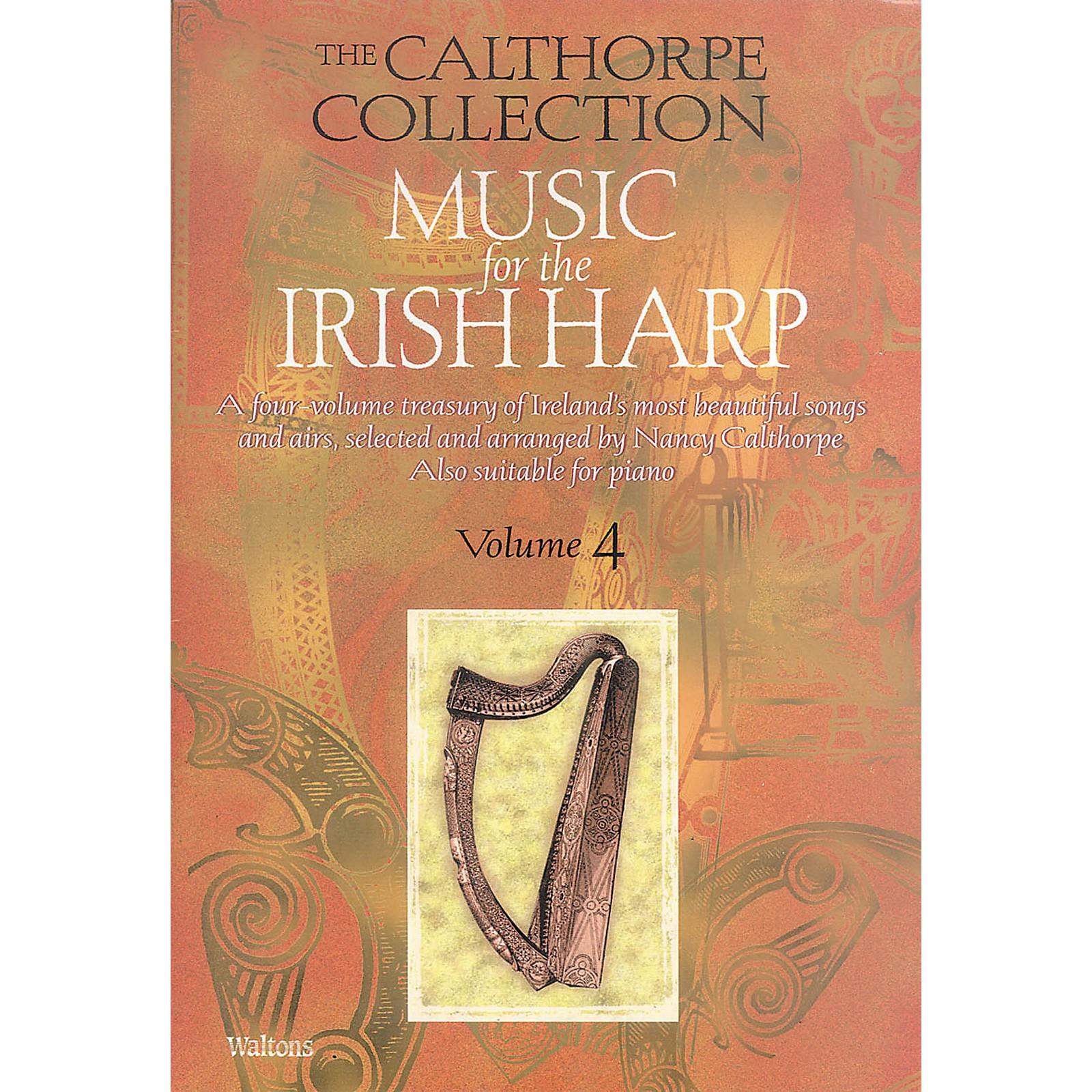Waltons Music for the Irish Harp - Volume 4 Waltons Irish Music Books Series Written by Nancy Calthorpe