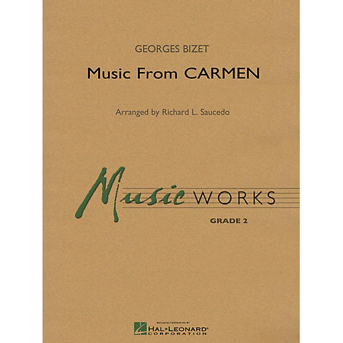 Hal Leonard Music from Carmen Concert Band Level 2 Arranged by Richard Saucedo