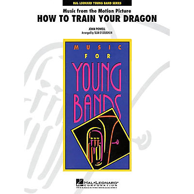 Cherry Lane Music from How to Train Your Dragon - Young Concert Band Series Level 3 arranged by Sean O'Loughlin