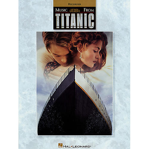 Hal Leonard Music from Titanic for Recorder Instrumental Folio Series Softcover