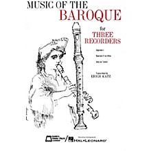 Edward B. Marks Music Company Music of the Baroque (Score & Parts) Recorder Ensemble Series by Various