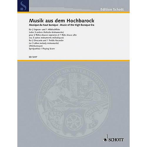 Schott Music of the High Baroque Era (Performance Score) Schott Series by Various