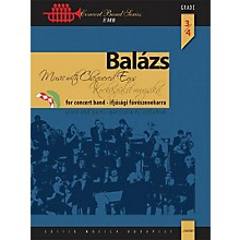 Editio Musica Budapest Music with Chequered Ears Concert Band Level 4 Composed by Arpad Balazs