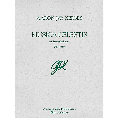 Associated Musica Celestis (Full Score) Study Score Series Composed by Aaron Jay Kernis