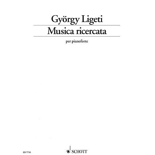 Schott Musica ricercata Schott Series Softcover