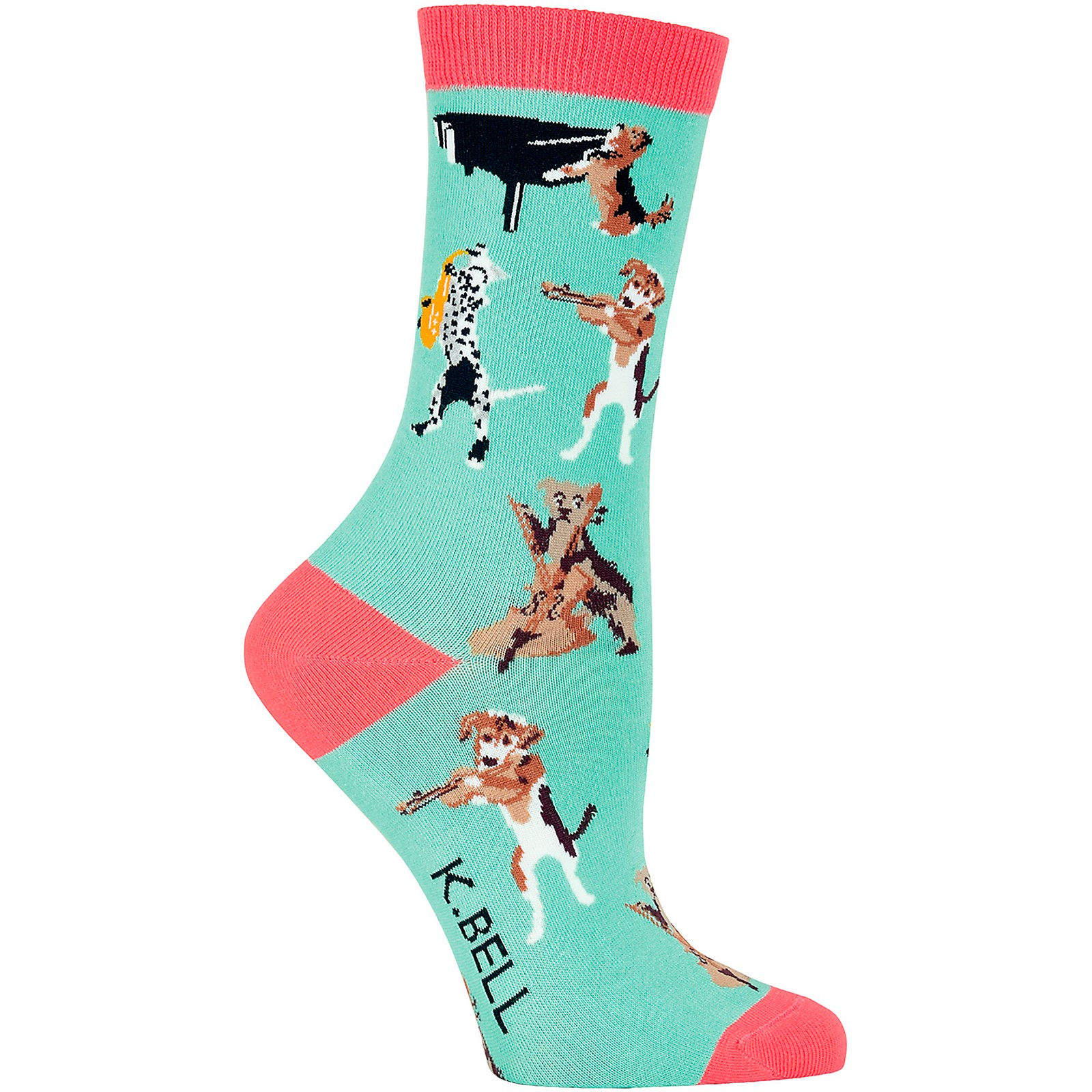 K. Bell Musical Dogs Women's Socks