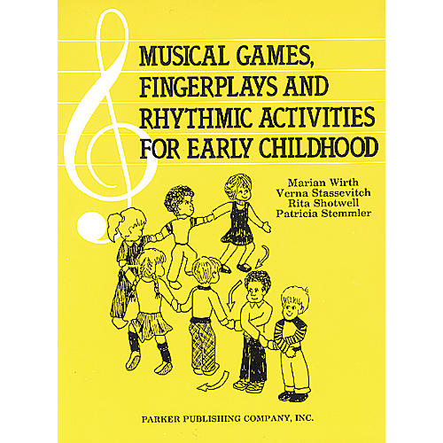 Pearson Education Musical Games Fingerplays & Rhythm Activities