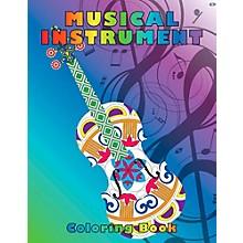 Hal Leonard Musical Instrument Coloring Book
