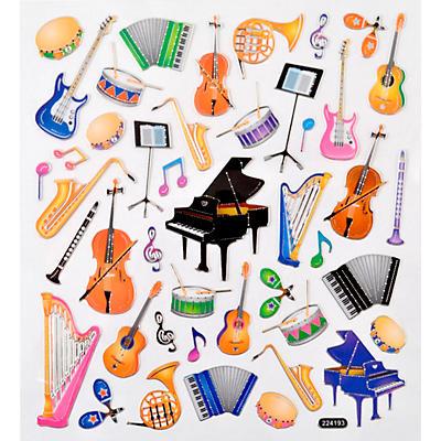 AIM Musical Instrument Stickers