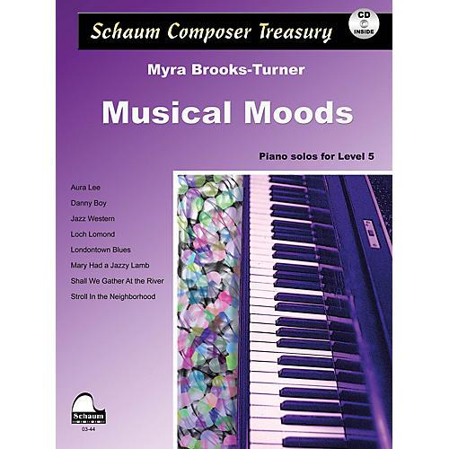 SCHAUM Musical Moods Educational Piano Series Softcover