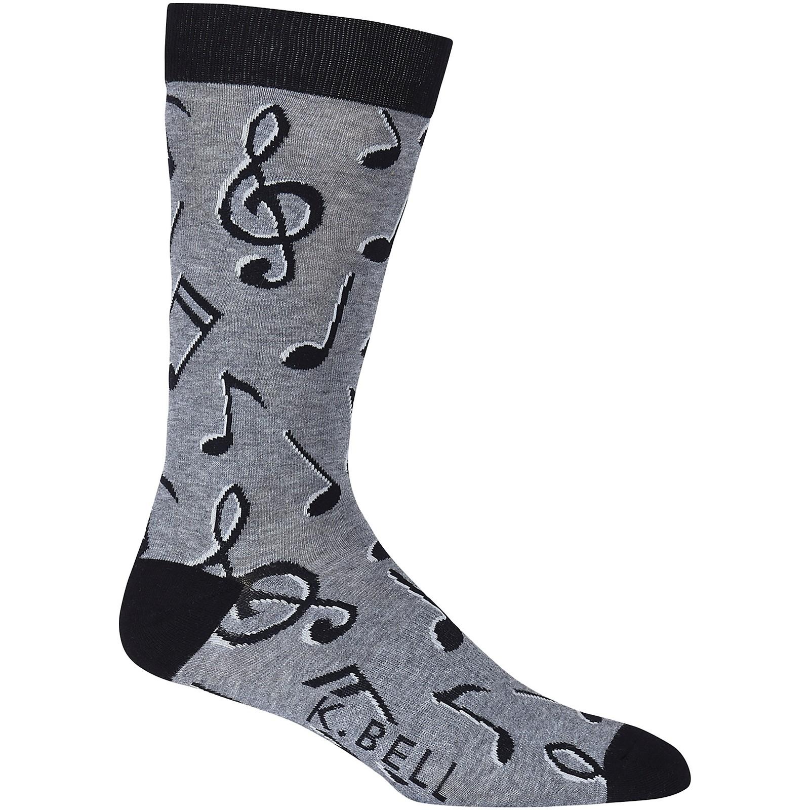 K. Bell Musical Notes Sock