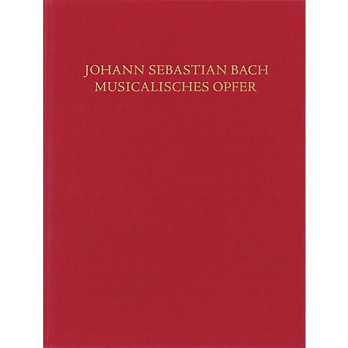 Schott Musical Offering, BWV 1079 Schott by Johann Sebastian Bach Edited by Hans-Eberhard Dentler