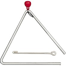 Musical Steel Triangle 6 in.