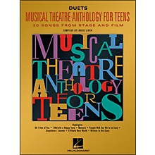 Hal Leonard Musical Theatre Anthology for Teens for Duets