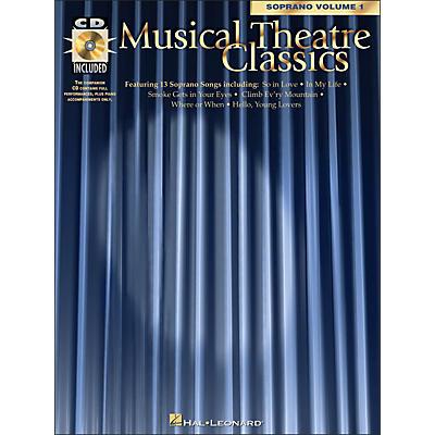 Hal Leonard Musical Theatre Classics for Soprano Vol 1 Book/CD Pkg