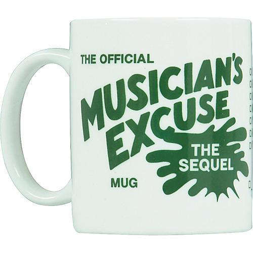 Chesbro Music Co. Musician's Excuse Mug