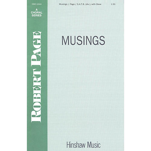 Hinshaw Music Musings SSAATTBB composed by Robert Page
