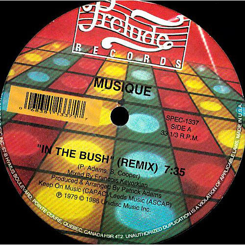 Alliance Musique - In the Bush