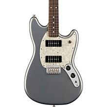 Mustang 90 Pau Ferro Fingerboard Silver