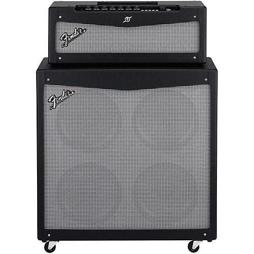 Fender Mustang V HD 150W Guitar Amp Head and 4x12 Guitar Speaker Cabinet