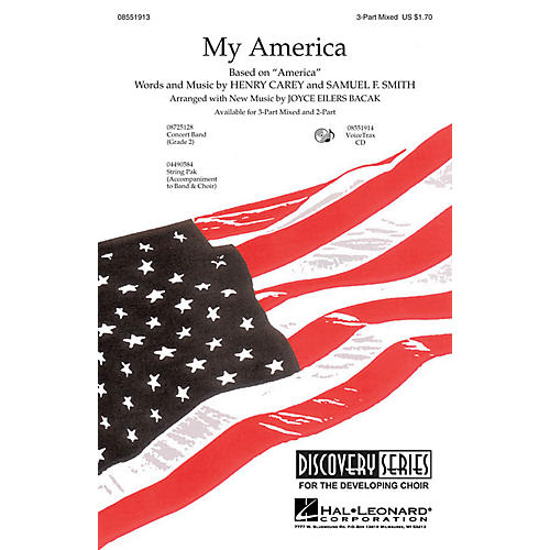 Hal Leonard My America 3-Part Mixed composed by Joyce Eilers