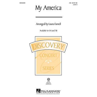 Hal Leonard My America (Choral Medley) Discovery Level 3 TB Arranged by Laura Farnell