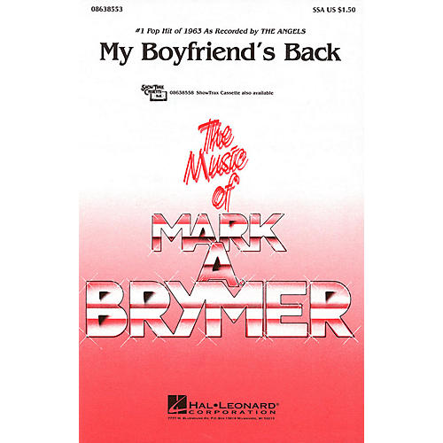 Hal Leonard My Boyfriend's Back SSA by The Angels arranged by Mark Brymer