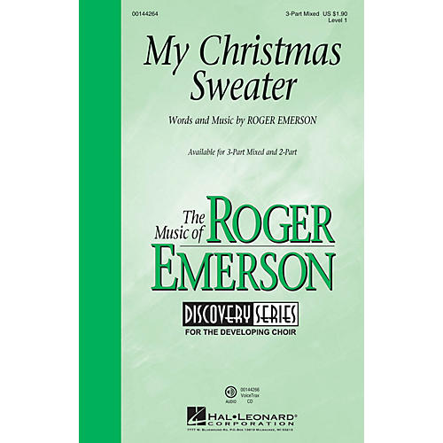 Hal Leonard My Christmas Sweater (Discovery Level 1) VoiceTrax CD Composed by Roger Emerson