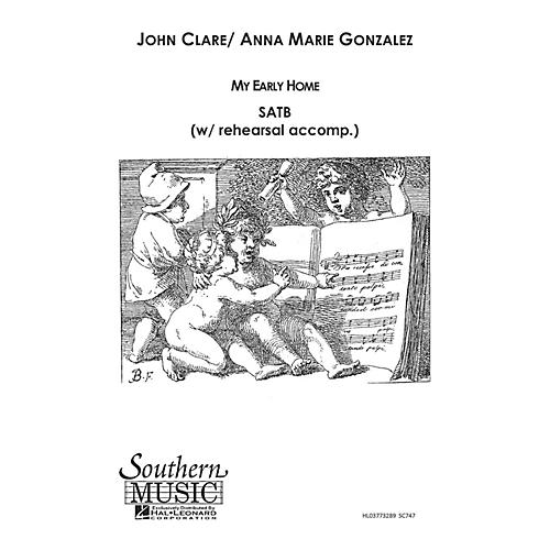 Hal Leonard My Early Home (Choral Music/Octavo Secular Satb) SATB Composed by Gonzalez, Anna Marie