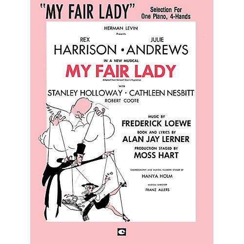 Hal Leonard My Fair Lady Duet Piano Education Series Composed by Frederick Loewe